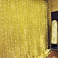 Ucharge Curtain Lights 304led Christm…