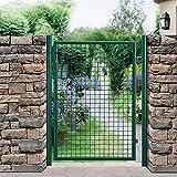 protec-Gartentr-175x106-grn-Gartentor-Zauntr-Gartenpforte-Gartenzaun-Tr