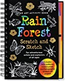 Rain Forest Scratch and Sketch: An Art Activity Book for Adventurous Artists and Explorers of All Ages (Scratch & Sketch)