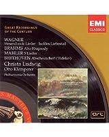 Wagner : Wesendonck-Lieder - Isoldes Liebestod - Brahms : Rhapsodie pour alto... / Christa Ludwig
