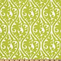 54'' Wide Premier Prints Kimono Chartreuse/White Fabric By The Yard