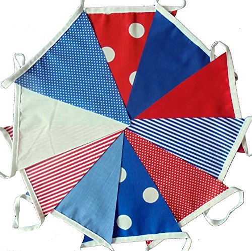 3-mtrs-10-flags-red-white-and-blue-mix-fabric-bunting-banner-garland