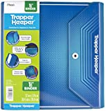 Mead Trapper Keeper 1.5 Inch Binder, 3 Ring Binder, Blue (72684)