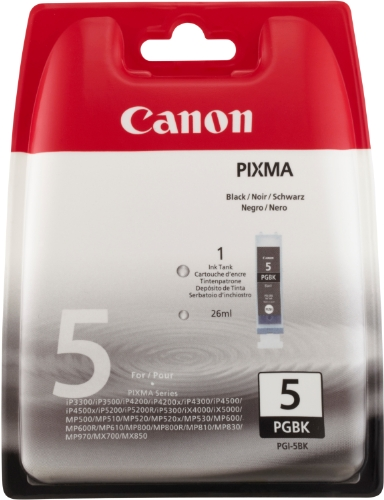 Canon PGI-5 BK Inkjet / getto d'inchiostro Cartuccia originale