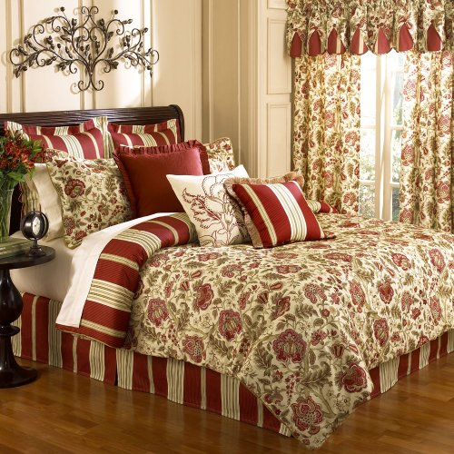 Waverly Imperial Dress Brick King Comforter Set