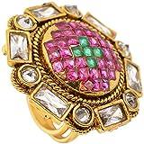 SPE Multicolor Round Ring for Women & Girl (SPE R 34)