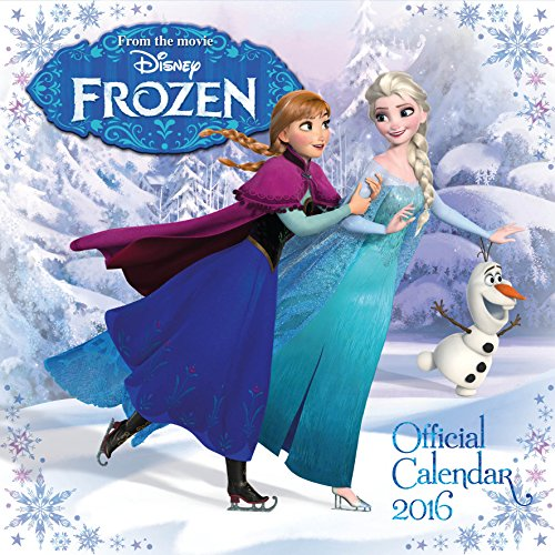 The Official Disney Frozen 2016 Square Calendar