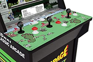 Arcade1Up Rampage - Classic 4-in-1 Game Home Arcade, 4ft (Color: Rampage)