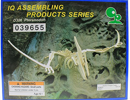IQ Assembling Products Series Balsa Wood 3D Puzzle Pteranodon - 1