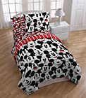 Mickey Funny Faces 4 Piece Comforter & Sheet Set Twin size
