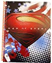 Man of Steel Spiral Notebook ( Styles May Vary)