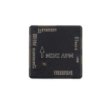 Goliton® mini APM V3.1 régulateur de vol pour l'APM boussole externe ArduPilot Mega-Noir