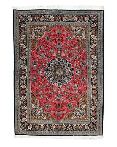 Roubini Qum Kurk, Multi, 6′ 4″X4′ 6″