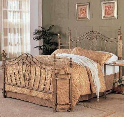Coaster Fine Furniture 300171q Metal Bed Headboard And