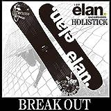 15-16 ELAN / エラン HOLISTICK/ホリスティック グラトリ メンズ スノーボード 板