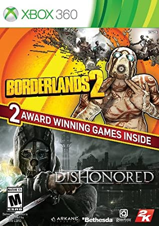 The Borderlands 2 & Dishonored Bundle - Xbox 360
