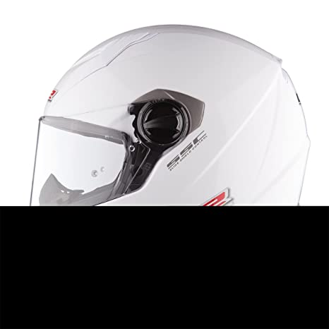 LS2 Ff322 Concept Ii brillant blanc moto casque