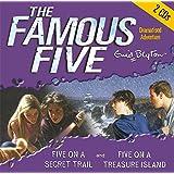 The Famous Five. Five on Treasure Island / Five on a Secret Trail. 2 CDs