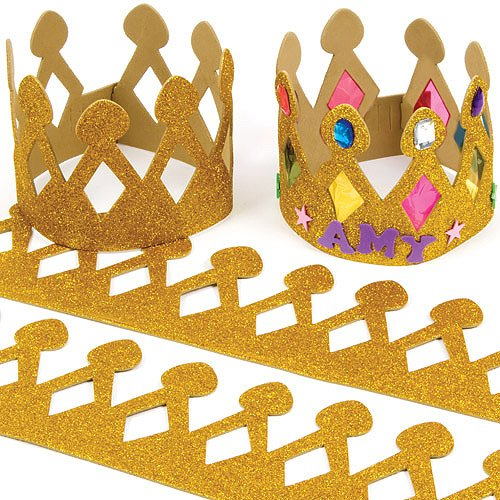 gold-glitter-foam-crowns-for-children-to-make-personalise-wear-as-a-part-of-a-costume-at-a-fancy-dre