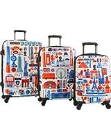 Heys America Paris, London & New York-3pc Luggage Set