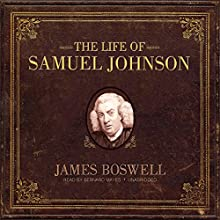 The Life of Samuel Johnson Audiobook by James Boswell Narrated by Bernard Mayes
