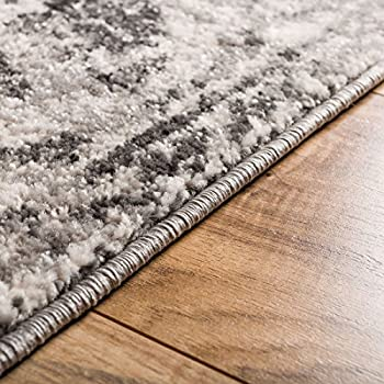 """Yorkshire Blue Sarouk Vintage Modern Casual Traditional 5x7 ( 5'3"""" x 7'3"""" ) Area Rug Thick Soft Plush Shed Free"""