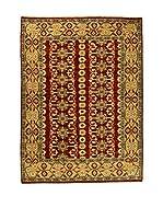 Eden Carpets Alfombra Gabbeh Rojo/Miel 275 x 205 cm