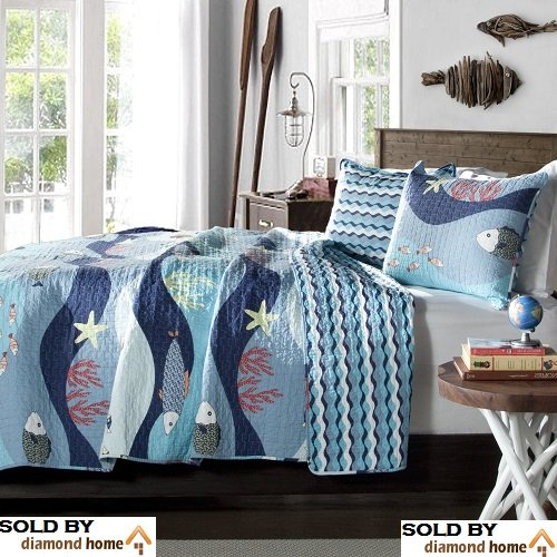 Starfish Bedding And Quilt Sets Beachfront Decor