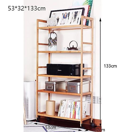Book Jia librerie Mensole mobili scaffalature scaffali moderni desktop per ufficio piattaforme di storage multi-storey rack copiatori armadio a pavimento ( dimensioni : 53*32*133cm )