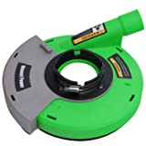 Diment Power Dust Shroud,Surface Grinding Dust Shroud for Angle Grinders 7-inch,green (Color: Green, Tamaño: 7inch)