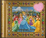 Disney World New Fantasyland Deluxe Princess Autographs & Photo Book