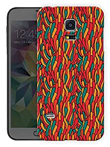 """Humor Gang Abstract Deflated Balloon ArtPrinted Designer Mobile Back Cover For """"Samsung Galaxy S5"""" (3D, Matte, Premium Quality Snap On Case)..."""