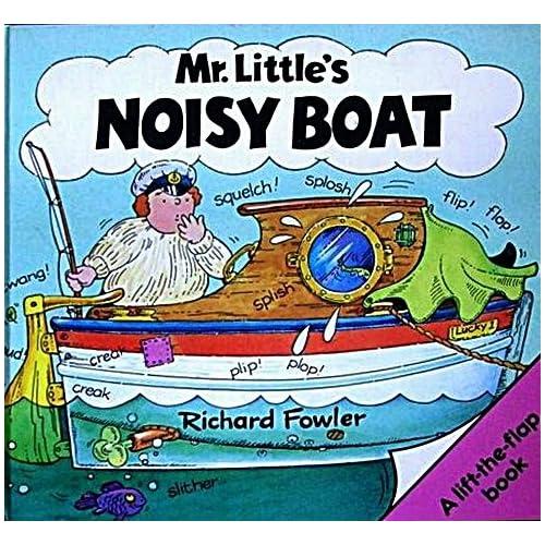 Noisy Boat (Lift-the-Flap Book): Richard Fowler: Amazon.com: Books