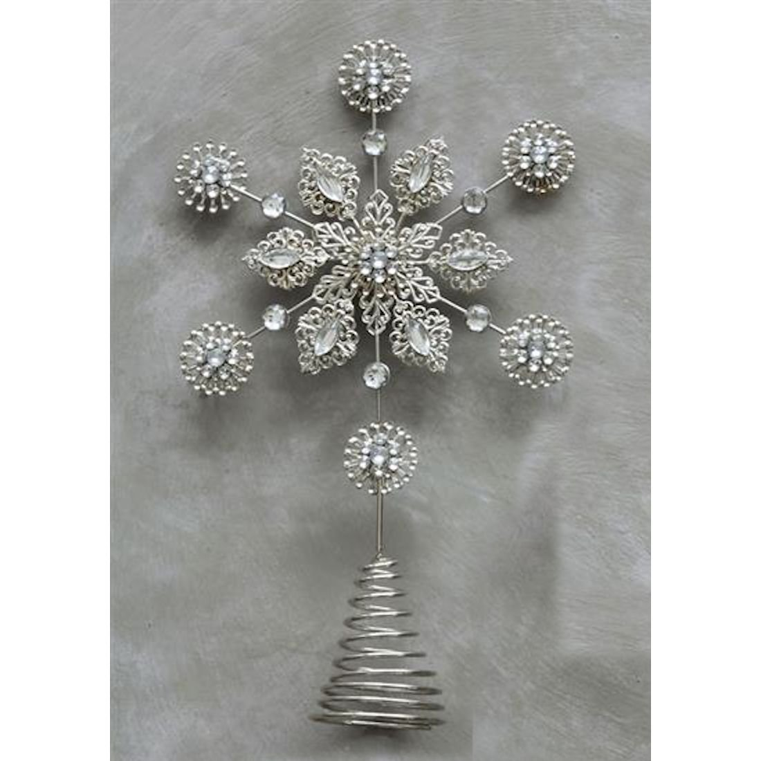 Snowflake Tree Toppers Christmas Wikii