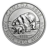 2015 Canada Polar Bear and Cub $8 1.5 Oz .9999 Silver Coin. 3rd in Series