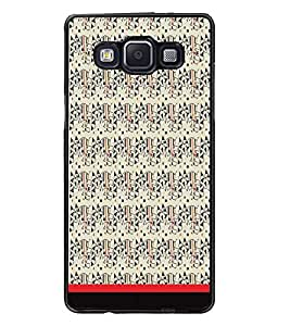 PrintDhaba Pattern D-1746 Back Case Cover for SAMSUNG GALAXY E5 (Multi-Coloured)