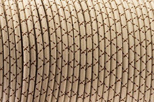 3-core-crema-marrone-antico-intrecciato-rotondo-tessuto-di-seta-lampada-cavo-flessibile-cavo