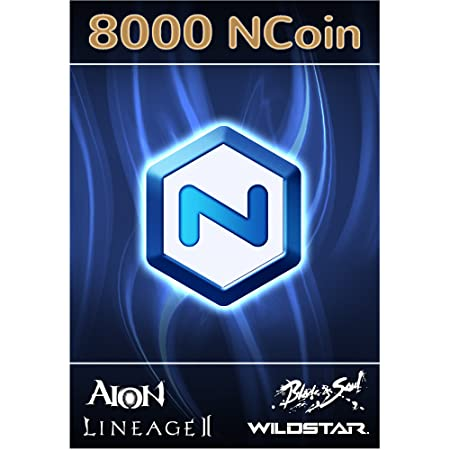 NCsoft NCoin 8000 NCoin [Online Game Code]