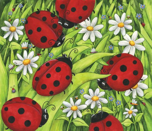 Lady Bugs a 200-Piece Jigsaw Puzzle by Sunsout Inc.