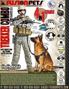 Fusion Pets K9 Trekker Harness Combo