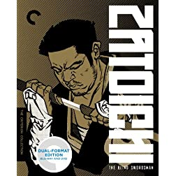 Zatoichi: The Blind Swordsman (Criterion Collection) BLU-RAY/DVD DUAL FORMAT EDITION