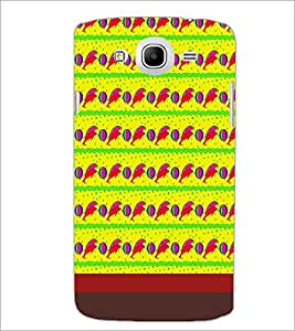 PrintDhaba Dolphin Pattern D-1850 Back Case Cover for SAMSUNG GALAXY MEGA 5.8 (Multi-Coloured)