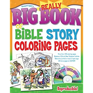 Click to buy Really Big Book of Bible Story Coloring Pages from Amazon!