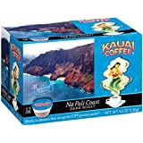 Kauai Coffee Na Pali Coast Dark Roast, 12 Single Serve Cups, 4.2 Ounce
