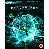 Prometheus - Collector's Edition (Blu-ray 3D + Blu-ray + Digital Copy) [Region Free]by Noomi Rapace