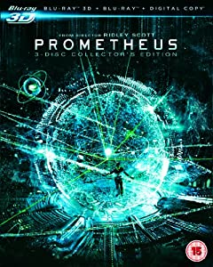Prometheus - Collector's Edition (Blu-ray 3D + Blu-ray + Digital Copy) [Region Free]