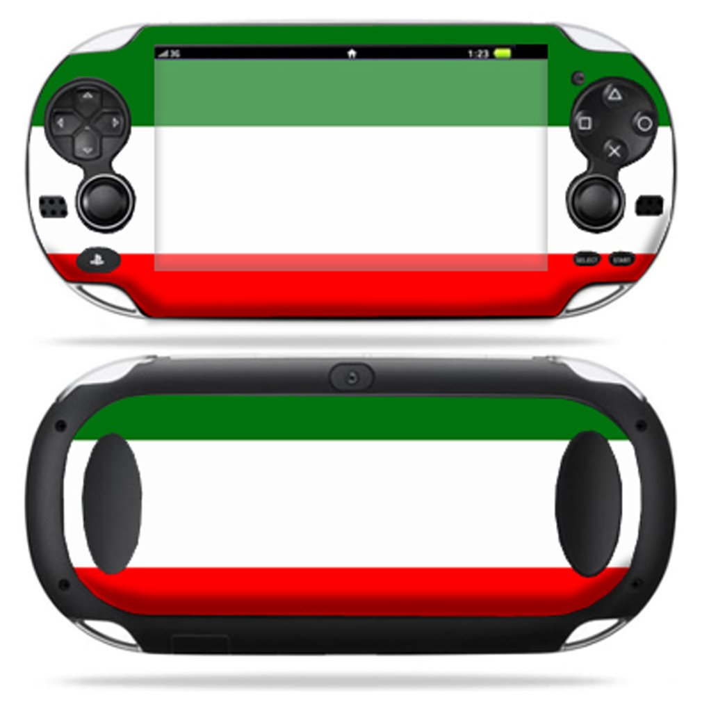 Protective Vinyl Skin Decal Cover for PS Vita PSVITA Playstation Vita Portable Sticker Skins Italian Flag ps4 dying light skin decal sticker for playstation4 console and 2 controller skins