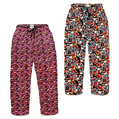 The Muppets Animal Official Gift Mens Lounge Pants Pajama Bottoms