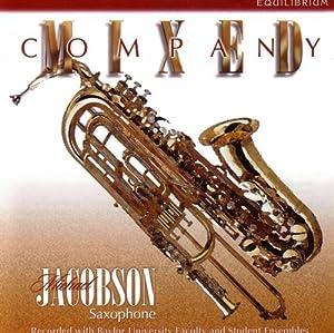 Mixed Company: Music Solo Saxophone & Ensembles