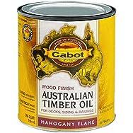 Water Reducible Australian Timber Oil Exterior Oil Finish-VOC MAHOGNY T-OIL FINI